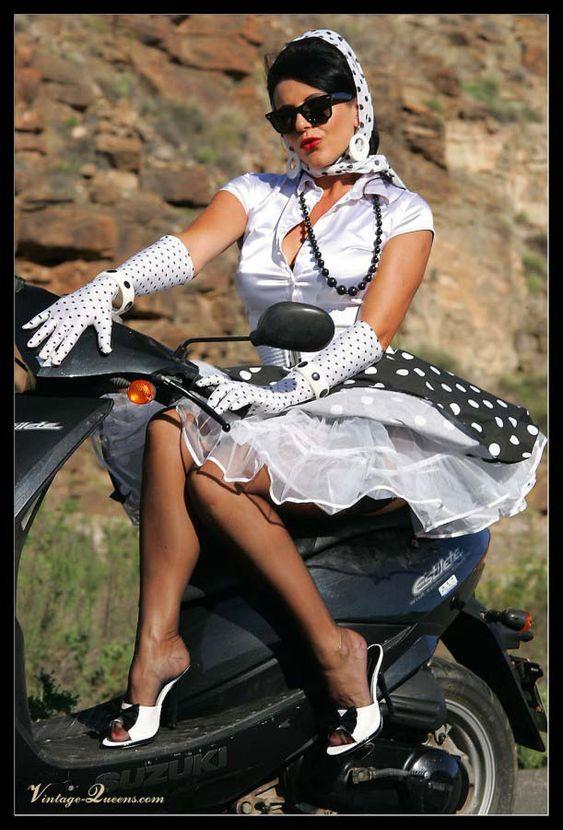 Petti Pictures--Petti and Bikes