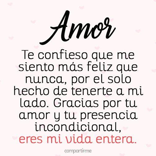 Ow Que Lindo Palabras De Amor Frases Para Mi Amor Y Letra
