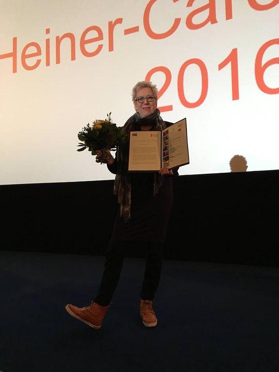 #Berlinale2016 Doris Dörrie wins Heiner Carow Prize 2016 with her film Grüße aus Fukushima (Fukushima, mon Amour)