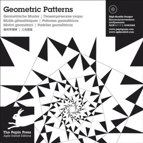 Geometric Patterns (Agile Rabbit Editions): Pepin Press: 9789057681080: Amazon.com: Books
