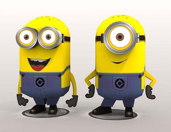 3D Minions de Despicable Me 2 Muñecas! | Hacer ¡Nuestro partido