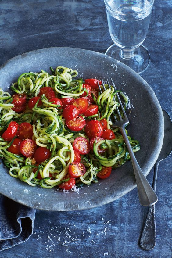 Annabel Karmel's courgette spaghetti - WAY better than other recipes I've tried!
