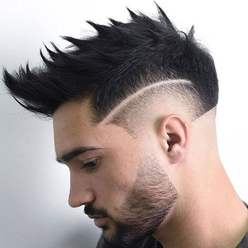 hairstyle with beard 2021