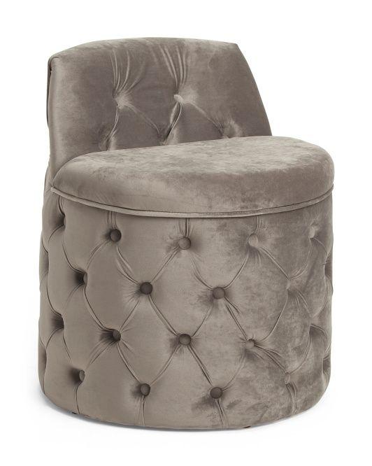 Pleasant Shayla Storage Stool In 2019 Storage Stool Leather Chair Inzonedesignstudio Interior Chair Design Inzonedesignstudiocom