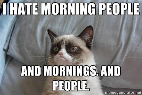 Les 10 commandements de la lève-tard en galère le matin