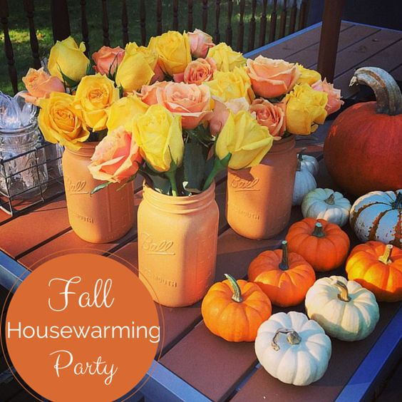 Fall Housewarming Party From Weekend Craft