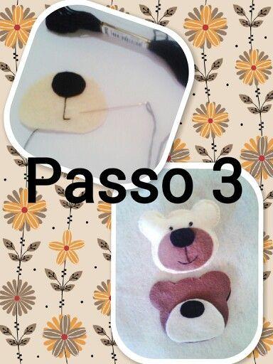 Chaveiro ursinho 3