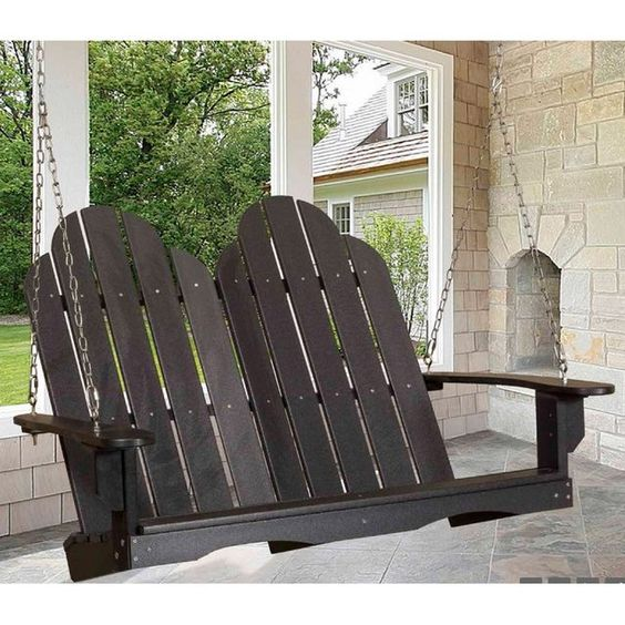 This Adirondack Porch Swings retails for over $500!!!  Great condition and comes…