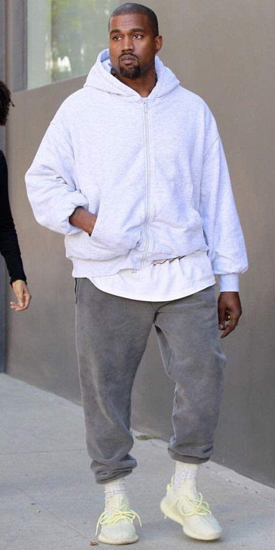 Css Spotlight Kanye West Wearing Adidas Nice Kicks Kanye Fashion Kanye West Style Streetwear Fashion