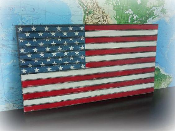Pottery+Barn+Knockoff++Beadboard+Flag+48+x+27+by+RedHenHome,+$50.00