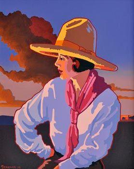 bill schenck artist | Evening Sky - William Schenck - 2011 Logan Hagege and Bill Schenck ...