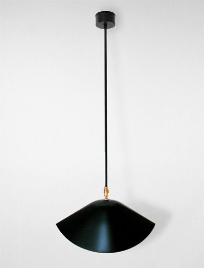 Serge Mouille Library Ceiling Lamp