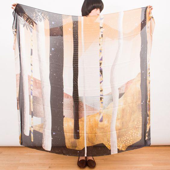 lake scarf