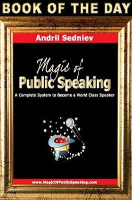 The Ereader Cafe Book Of The Day Kindle Publicspeaking Andriisedniev Book Cafe Public Speaking Books