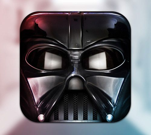 Darth Vadar Icon by Michael Flarup