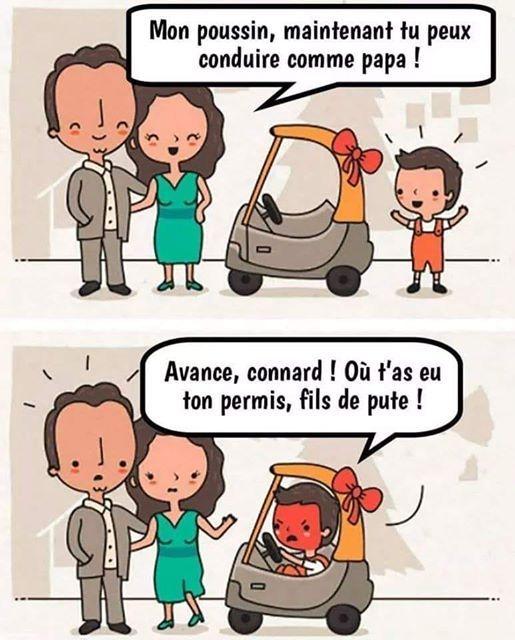 Un papa et une maman offre un jolie cadeau à leur enfant mais...