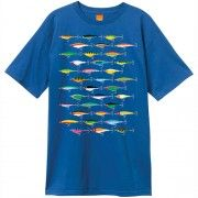 fish hook Enjoi Lures Premium Mens Short Sleeve T-Shirt