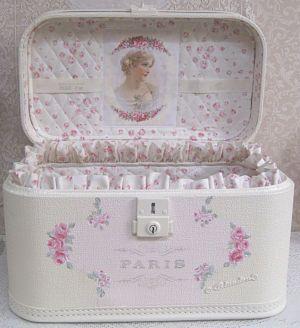 Shabby Chic koffer