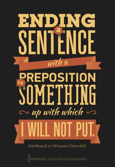 "If you like this and other educational content, be sure to ""like"" the post. What you ""like"" is what we will post more of in the future!  Later, on the blog, learn everything you've ever wanted to know about prepositions! http://blog.grammarly.com."