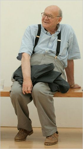Cy Twombly at the Menil Collection in Houston in 2005