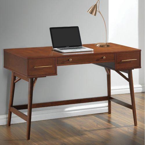 Mid Century Modern Walnut Desk 800744 800744 Century Desk Midcentury Modern Walnut Writing Desk Modern Writing Desk With Drawers Walnut Writing Desk