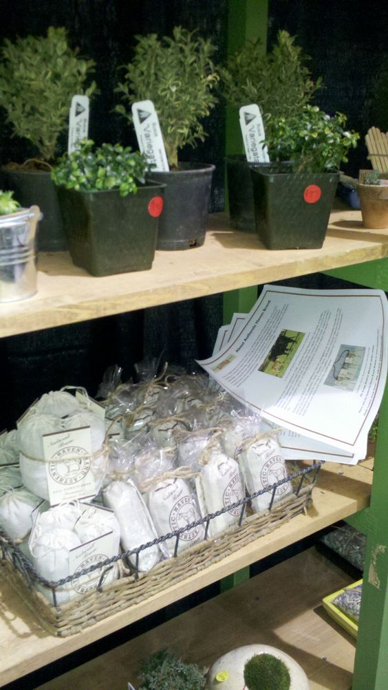 Janit Calvo displays Authentic Haven Brand at North West Flower & Garden Show 2012