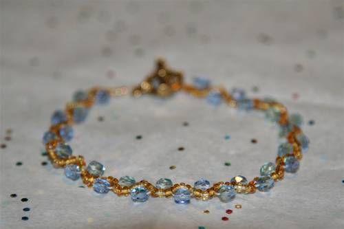 woven bracelet tutorial