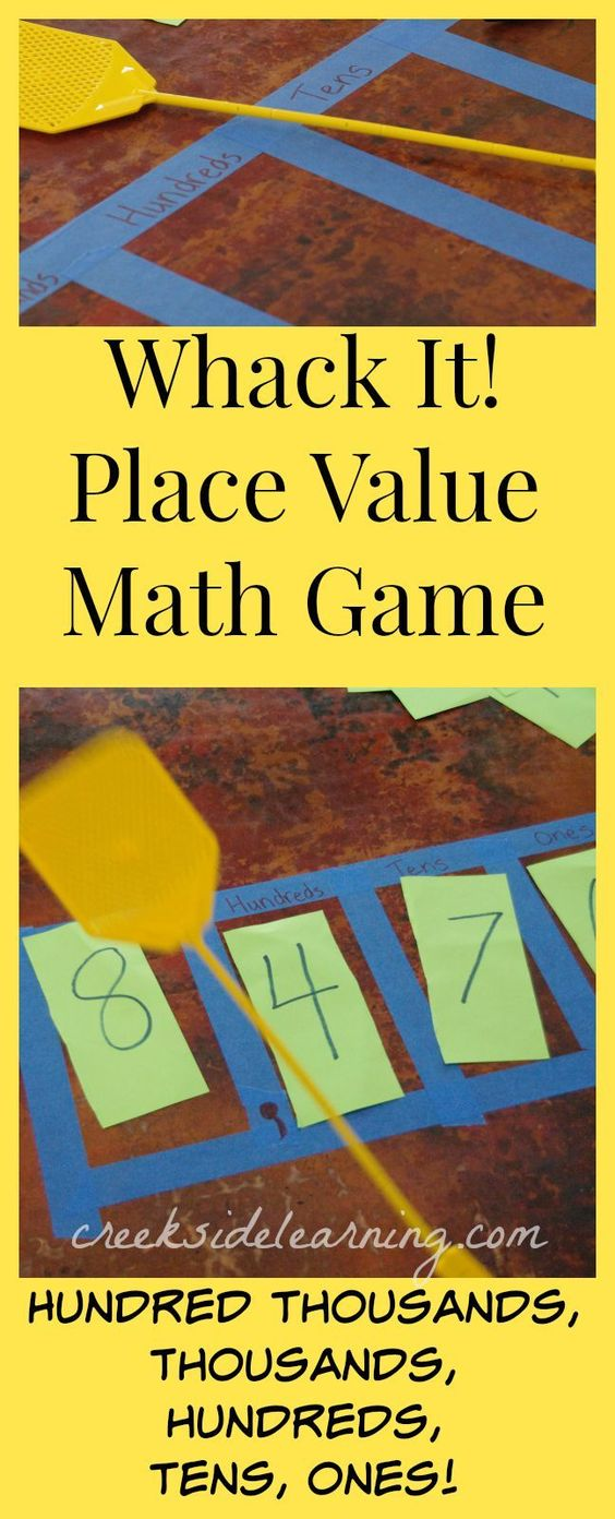 how to teach place value in math activities for kindergarten classroom activities and game. Black Bedroom Furniture Sets. Home Design Ideas