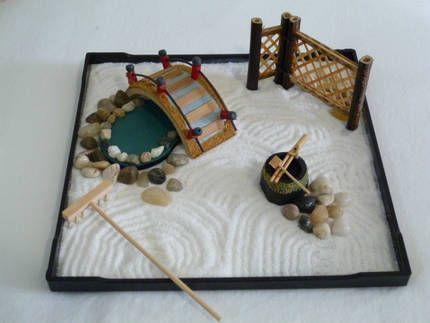 ENJOY mini Zen Garden in your own home, Zen Japanese atmosphere ...