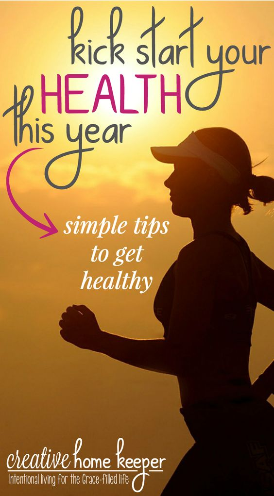 Kick start your health in the New Year (or any time of year) by following some simple and effective healthy nutrition and exercise habits.