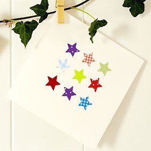 Make a patterned star Christmas card :: allaboutyou.com