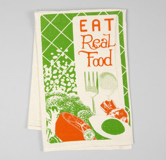 The Victory Garden of Tomorrow - Eat Real Food, floursack towels