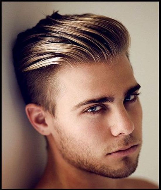 Slicked Back Haircut Best Choice Men Hairstyle 2017 Hipster