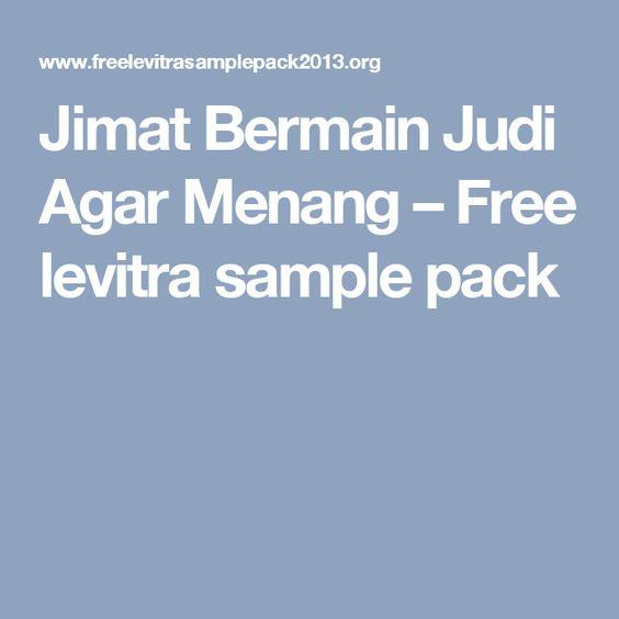Jimat Bermain Judi Agar Menang – Free levitra sample pack | casino ...