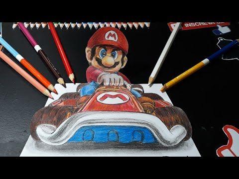 Como Desenhar O Super Mario Em 3d Passo A Passo How To Draw