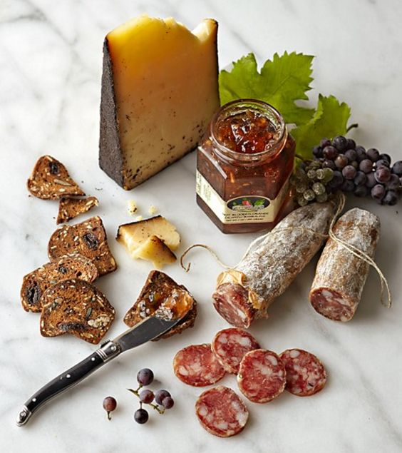 Beehive Cheese & Creminelli Salami Collection