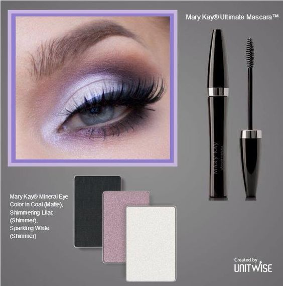 Shimmering eyes with Mary Kay mineral eye colors, gel ...