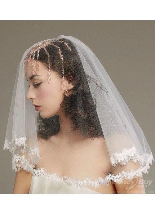 unusual+wedding+veils | short bridal veils cheapshort bridal veils cheap