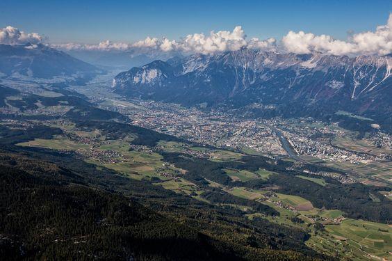 Innsbruck / Blick vom Patscherkofel