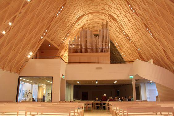 Kuokkala Church interior. Photo: Petri Kananen