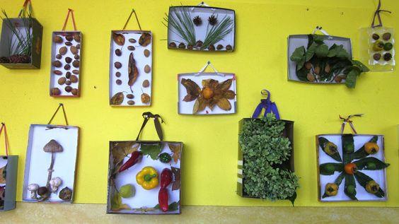 Las cajas de otoño   InnovArte Educación Infantil Español