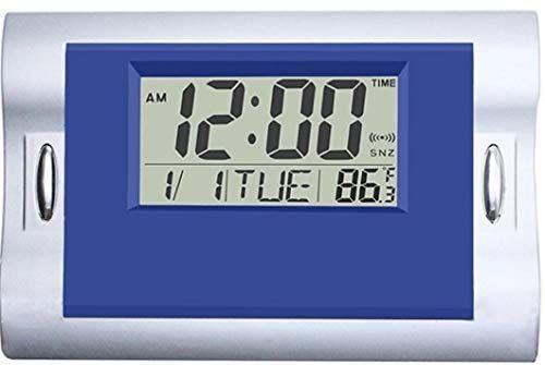 Cute Digital Wall Clocks Blue Silent Desk Cloc Https Www Amazon Com Dp B07mkffsbl Ref Cm Sw R Pi Awdb T1 X J7gtcbt75 Blue Wall Clocks Clock Digital Wall