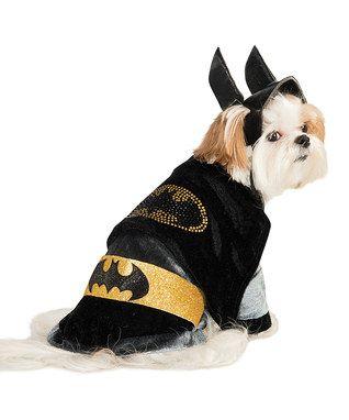 Black & Yellow Batgirl Pet Costume