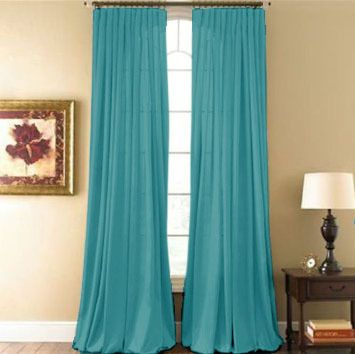 Hyatt Curtain Panel (Aqua) | Pinterest | Aqua, Curtain panels and ...