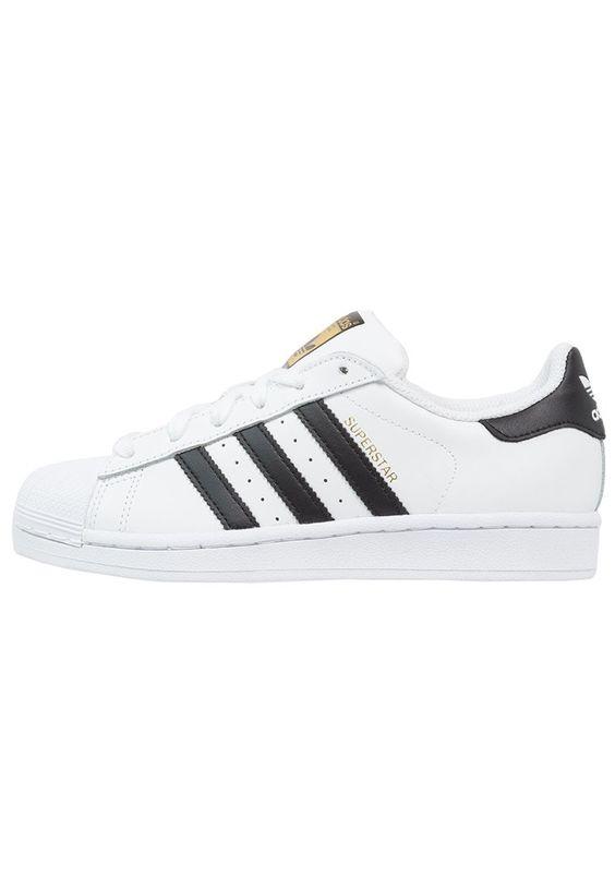adidas Originals SUPERSTAR - Sneaker low - white/core black - Zalando.de
