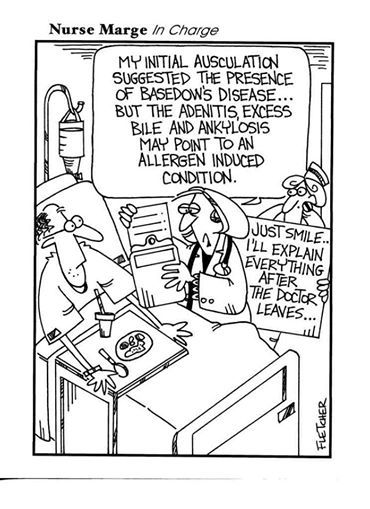 The Lighter Side of Healthcare: Nurse Marge in charge! #HealthEdSolutions