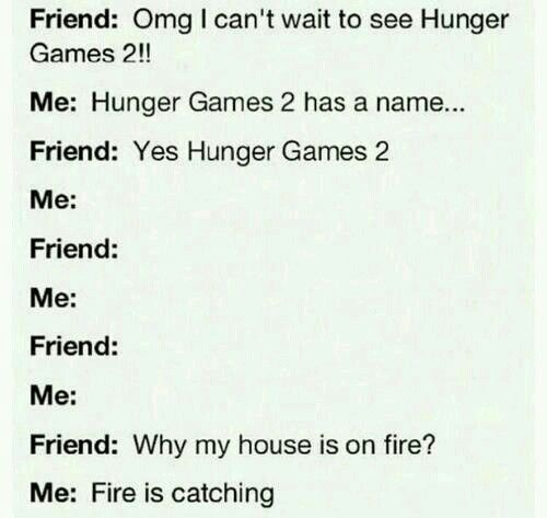 It's catching fire XD