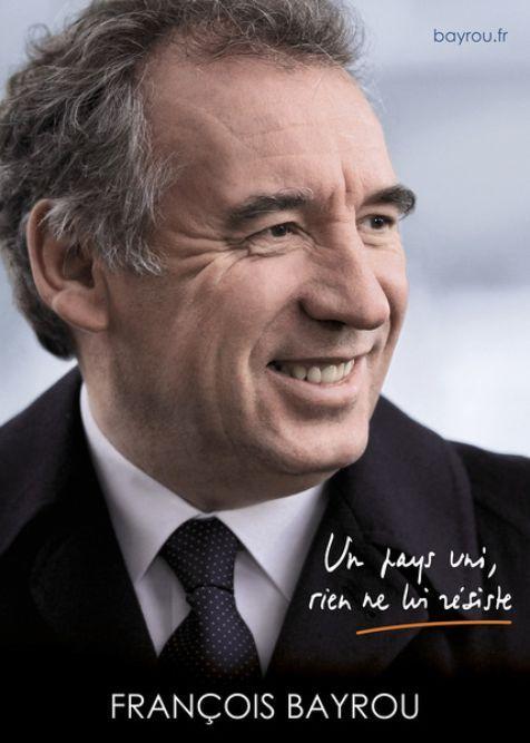 affiche campagne électorale Bayrou