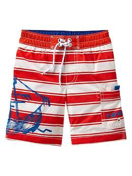 Stripe swim trunks | Gap
