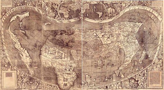 Waldseemüller-kaart – De 'geboorte' van Amerika | Historiek